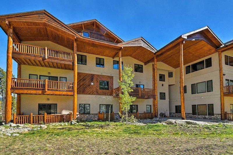 Prepara gli sci o le scarpe da trekking prima di recarti in questo accogliente condominio Winter Park!