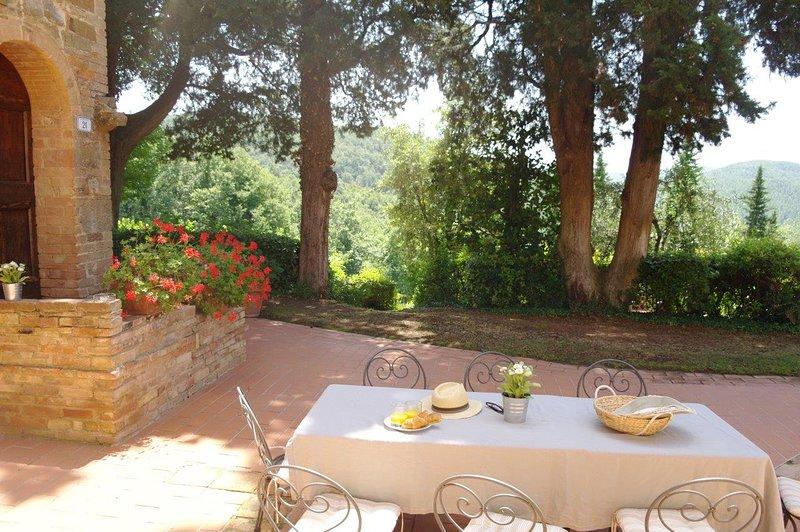 Apartment Garofano - Antico Casale Rodilosso, vacation rental in Montaione