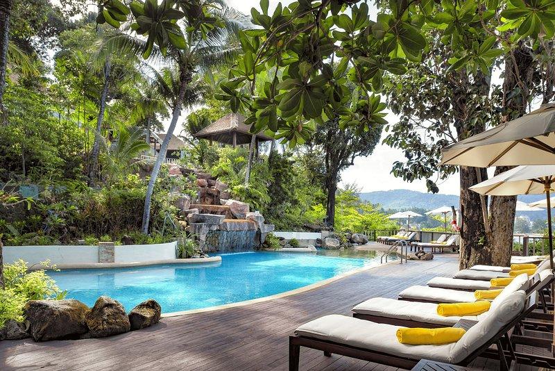 1 bed Deluxe Ocean facing villa in Karon – semesterbostad i Karon Beach