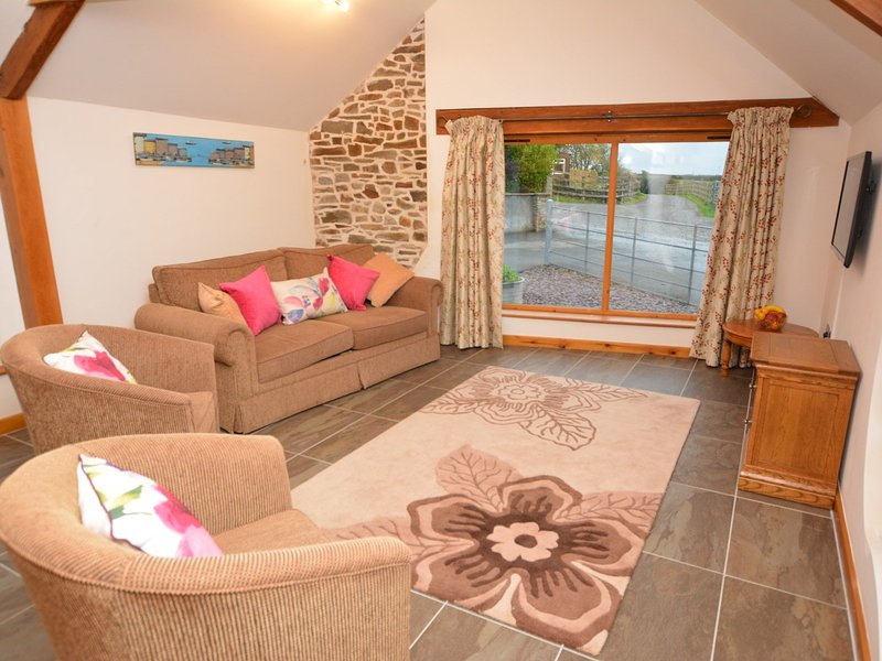 Relax with views over the fields