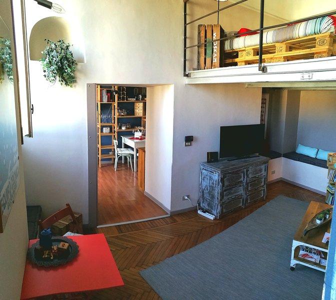 A casa nostra nel centro storico, Ferienwohnung in Turin