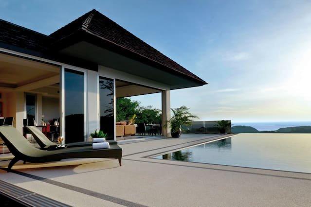 Layan SEA VIEW villa, 3-br, Layan, holiday rental in Thep Krasattri