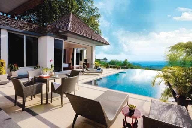 Layan SEA VIEW villa, 4-br, Layan, holiday rental in Thep Krasattri