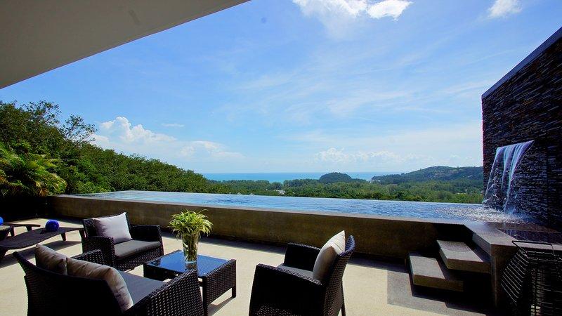 Layan SEA VIEW residences, 3-br, unit 33, casa vacanza a Si Sunthon