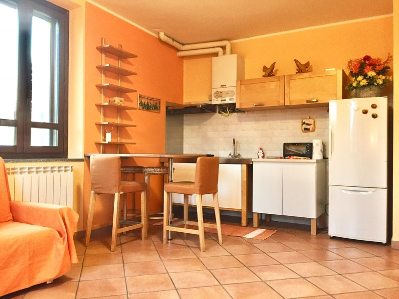 1 BDR IN THE PARK, PANORAMIC VIEW ON NAVIGLIO CANAL, vakantiewoning in Inveruno