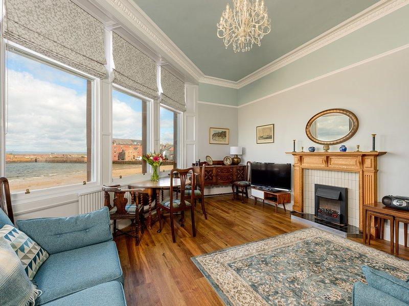Seafield - Prime 3-Bed Apartment in North Berwick, location de vacances à East Lothian