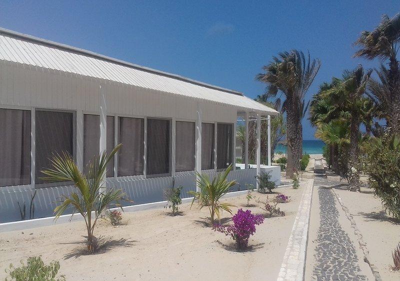 Villa vista mare 24b, Praia de Chaves, Boavista, Capoverde, location de vacances à SAL Rei