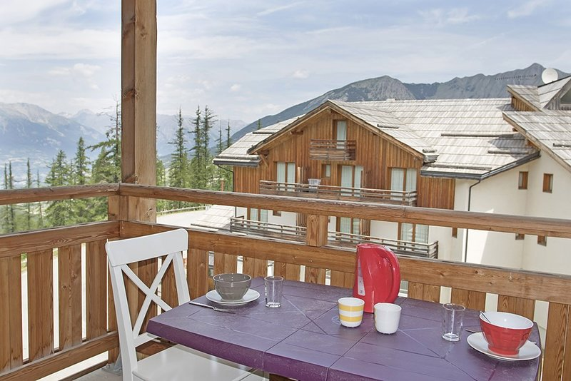 Welcome to our gorgeous and cozy Les Orres 1800 apartment.