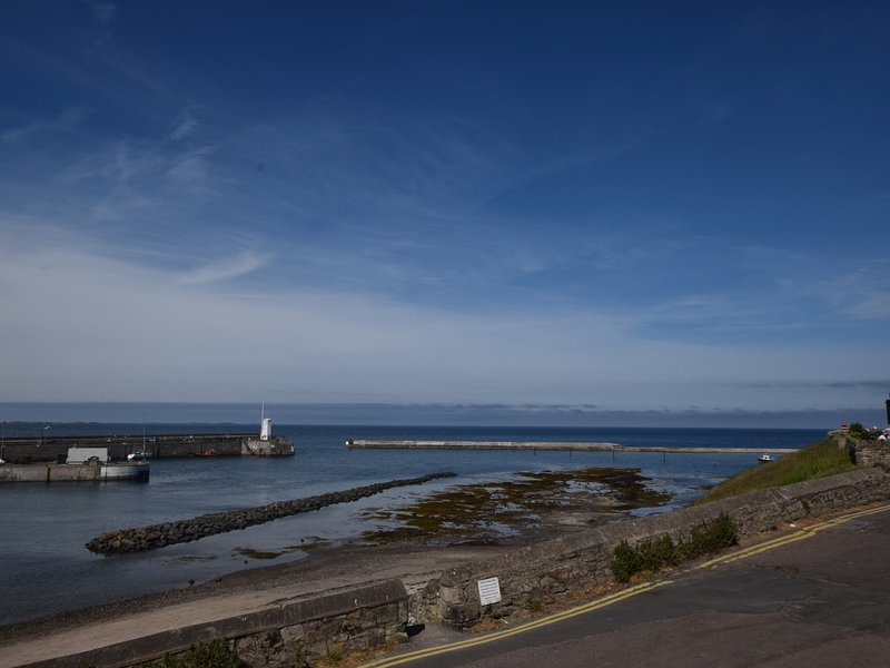 This lovely harbour is a miniutes walk away,a great place to sit and enjoy the view and sea air.