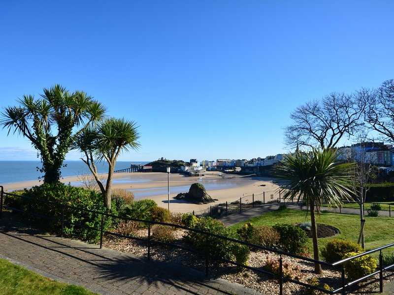 Just three miles to sunny Tenby with cobbled streets and sandy beaches galore