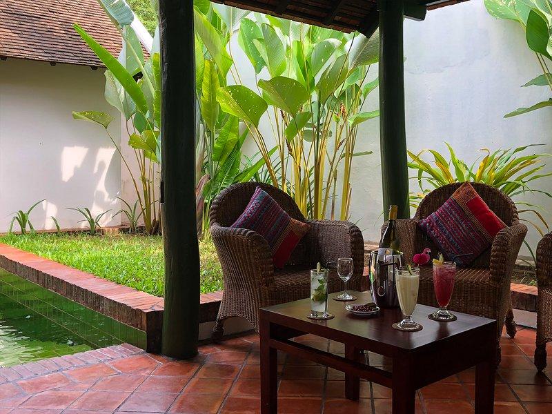 maison Houng Chanh - Luang prabang - Jacuzzi/pool, alquiler de vacaciones en Luang Prabang