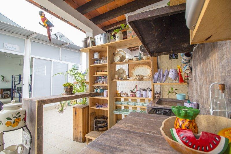 Estudio Puntamita en Tropical Home Vallarta Hostal b&b, location de vacances à Mezcales
