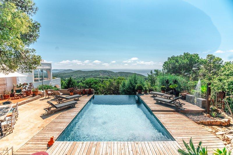 Villa Bambou, aluguéis de temporada em Sant Josep