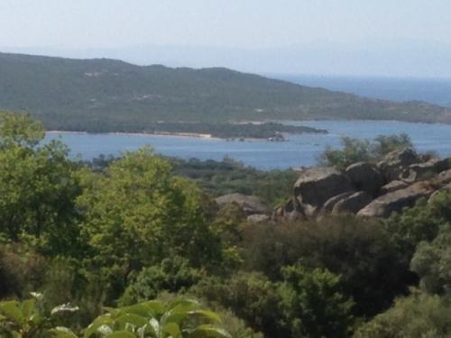 View of the Gulf of Pianottoli