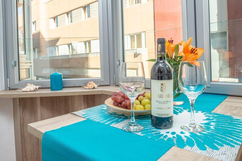 Appartement agréable et confortable dans la rue piétonne et à quelques mètres de la plage de Las Canteras.