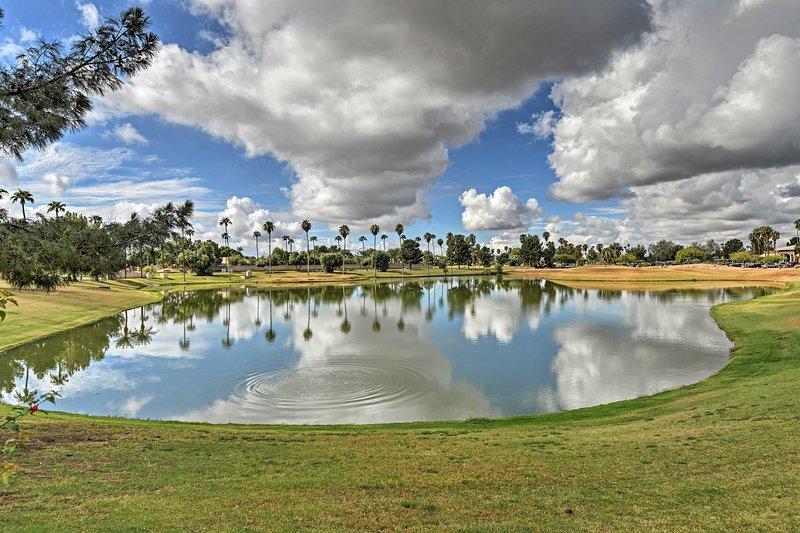 You'll love experiencing Arizona from this gorgeous golf course.