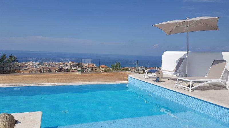 Borgo Panoramico Apartaments Tropea n.5, location de vacances à Drapia