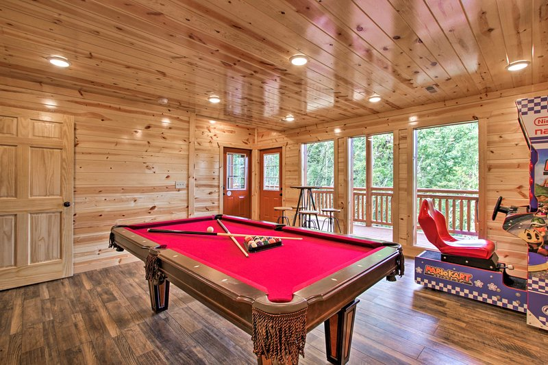 This home boasts a private indoor pool!