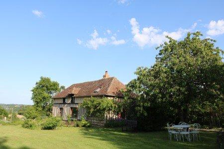La Blanchetière Gîte de charme Normandie Calvados Pays d'auge, location de vacances à Saint-Loup-de-Fribois
