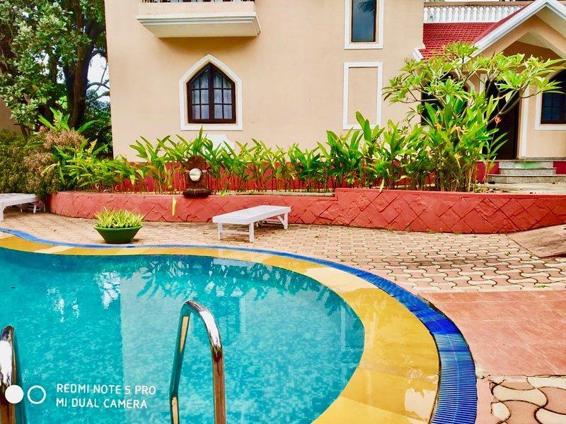 Rainbow Chimes Villa Goa, aluguéis de temporada em Sinquerim