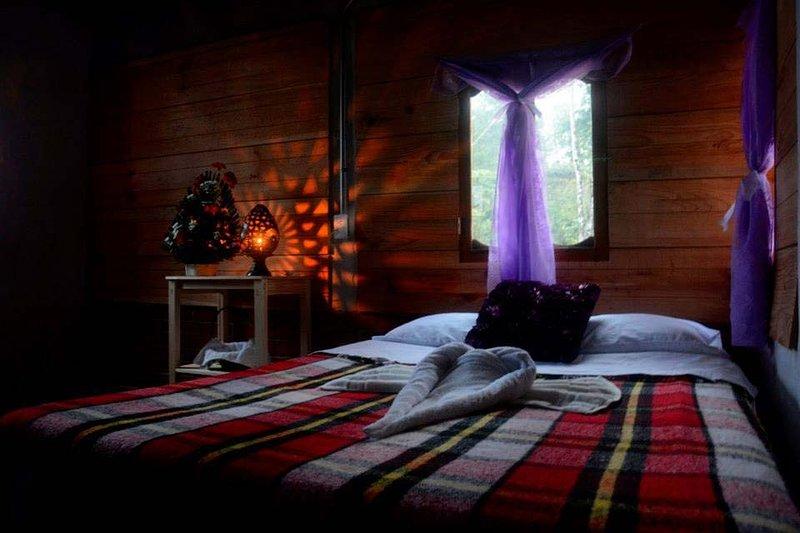 Cabaña en Parque Nacional Lagos de Montebello., location de vacances à Chiapas