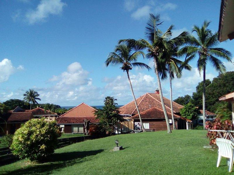 MARTINIQUE SAINTE ANNE STUDIO 23m2 RDC Terrasse, 1 à 4 Personnes, tout équipé, vacation rental in Sainte-Anne