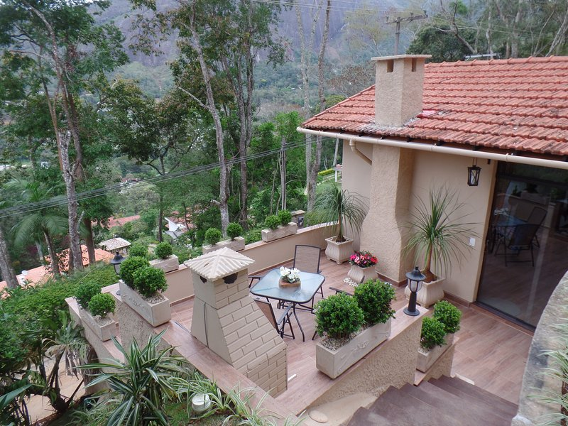 The Lodge provides 90m2 of private domain,with fabulous views