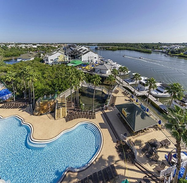 Indian Beach: 2 BDRM~ HARBOURSIDE AT MARKER 33 RESORT~ WATERFRONT