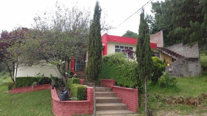 Cabaña Inn Zacatlán de las Manzanas Puebla, vacation rental in Zacatlan