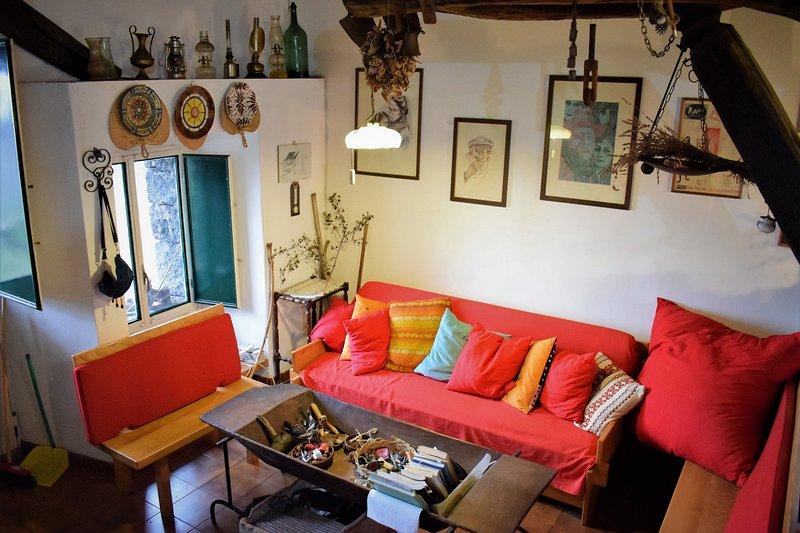 Rifugio Pietra Lava, holiday rental in Solicchiata