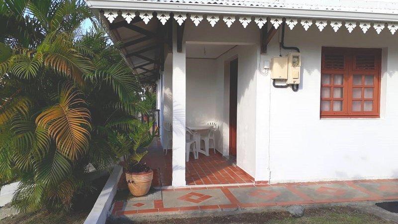 T3 60m² pour vacances au Sud de la Martinique, alquiler de vacaciones en Le Vauclin