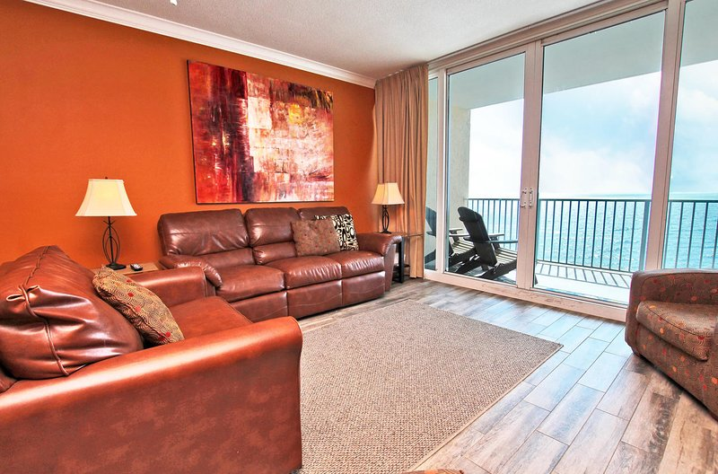9e verdieping Gulf Front Living Room