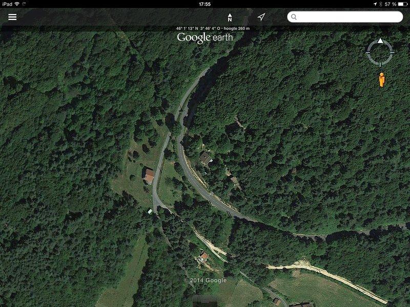 Domaine Laveneau from the air