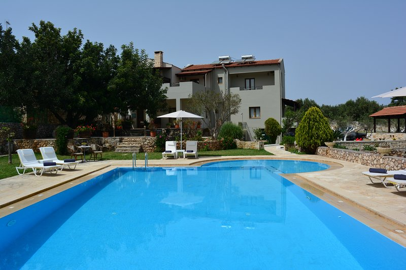 Elianthos Villa ''Villa Basil'', holiday rental in Vamos