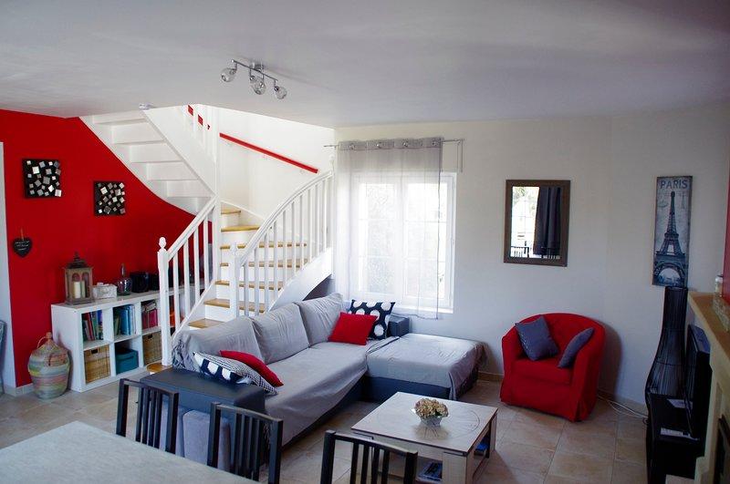 Maison 3* le 'So Sweet', tout confort, idéale famille, à 4km de la plage d'Omaha, vacation rental in Vierville-sur-Mer