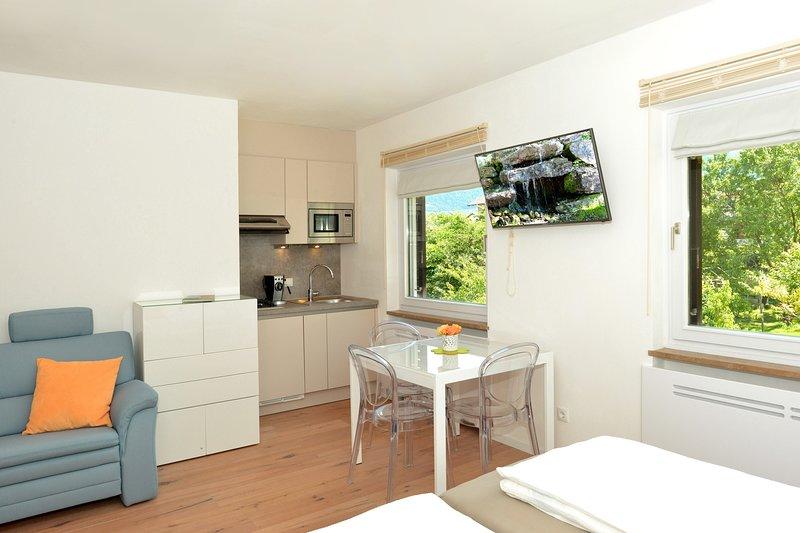 Suedblick Apartment am Traubenhof in Margreid - Magre, vakantiewoning in Bedollo
