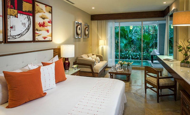 Spacious Bedrooms, each with a daybed. The master bedroom also has a plunge pool on it's balcony