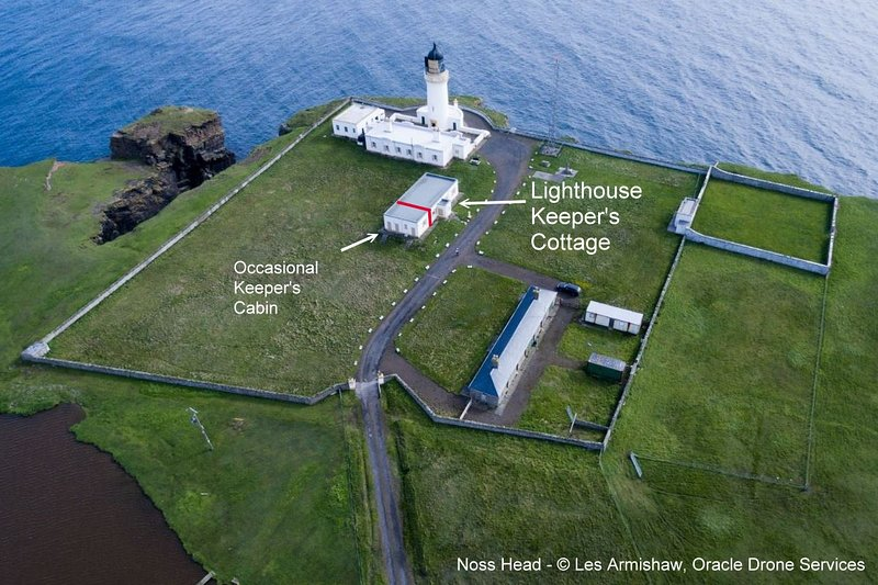 The Lighthouse Keeper's Cottage, Noss Head, vacation rental in Lybster
