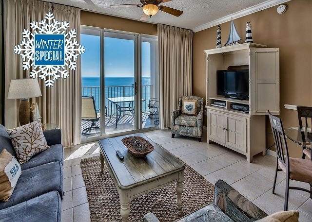 Majestic Sun 706A - Gulf View From the Living Room