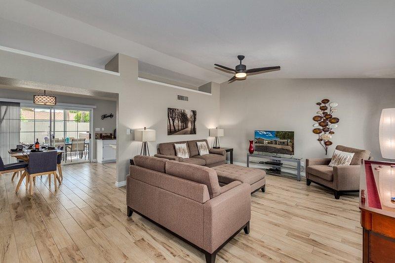 Open floor plan welcomes you home!