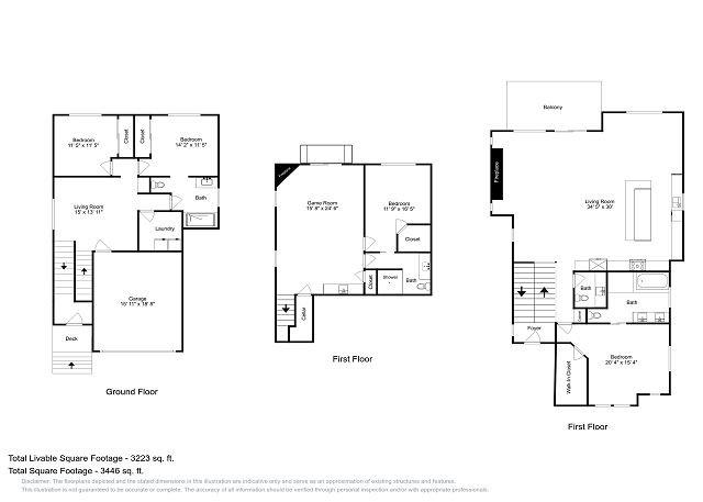 Plan d'étage