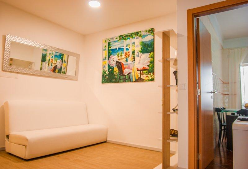 Neuse Blue Apartment, Nazaré, Leiria, location de vacances à Barrio