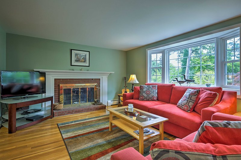 Run away to this Massachusetts 2-bedroom, 1-bath vacation rental!