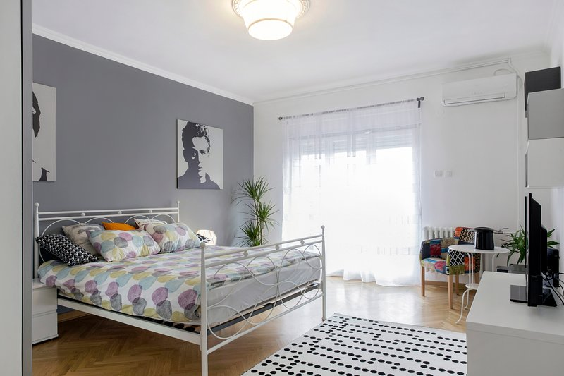 Savamala Apartment- Serbian plate, drinks&parking, vacation rental in Belgrade