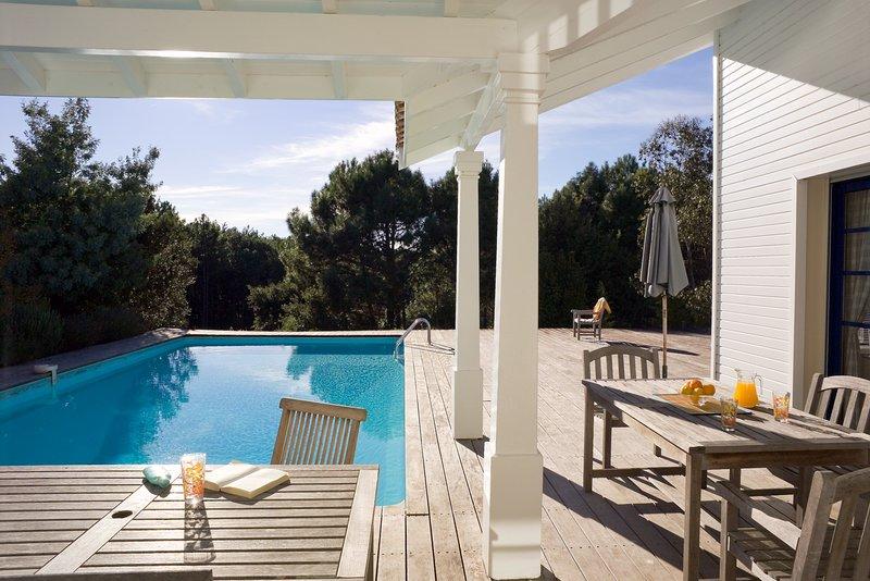 Votre balcon ou terrasse meublé est l'endroit idéal pour se détendre après une journée merveilleuse.