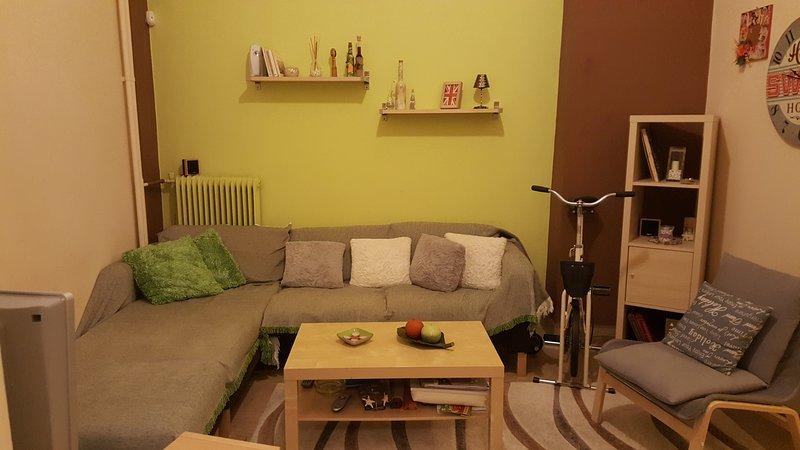 Small, cozy apartment in a family block at Piraeus, location de vacances à Piraeus
