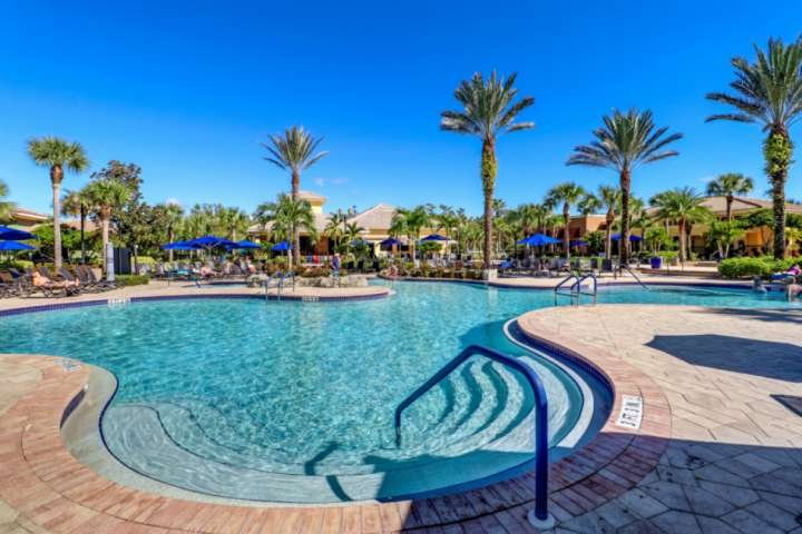 You'll spend hours enjoying the sun at the resort style lagoon pool with abundant lounge areas and poolside restaurant.