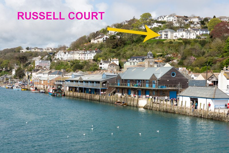 Russell Court has stunning views over Looe River!