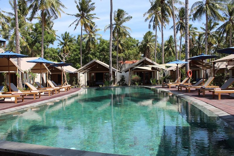 Gili Tenda Glamping Resort (Family Bungalow 3), holiday rental in Gili Trawangan