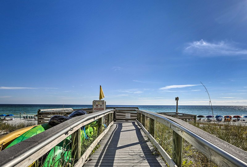 Seaside serenity awaits at this Destin resort condo!